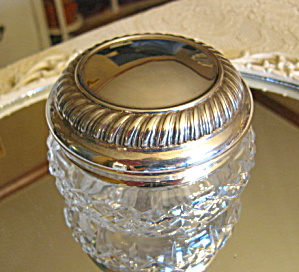 Waterford Crystal Vanity Box