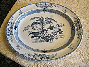 Antique Wedgwood Transferware Platter