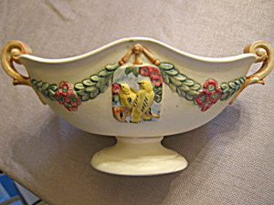 Weller Pottery Antique Roma Compote (Image1)