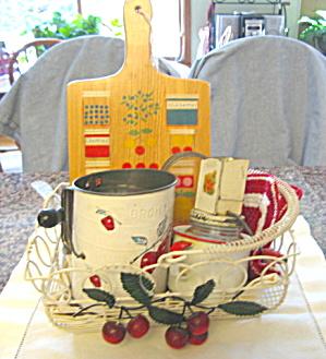 Vintage Red White Kitchen Gadgets (Image1)