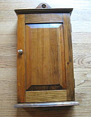 Vintage Wood Cabinet (Image1)
