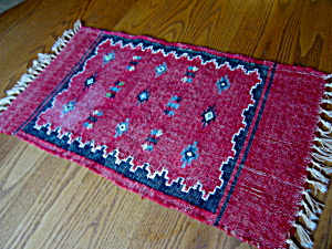 Vintage Wool Table Runner