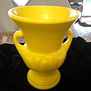 Morton Matte Yellow Vintage Vase