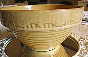 Yellow Ware Vintage Bowl  (Image1)