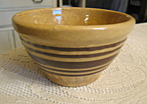 Tiny Yellow Ware Antique Bowl