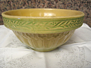 Yellow Ware Antique Bowl (Image1)