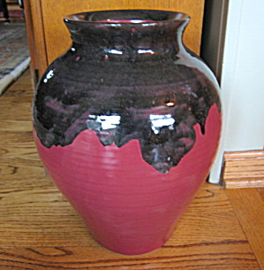 Zanesville Art Pottery Floor Vase