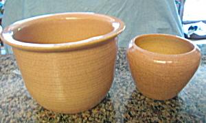 Zanesvile Pink Pottery Planters (Image1)