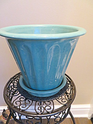 Zanesville Stoneware Large Flower Pot