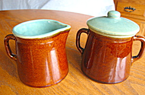 Vintage Country Fare Creamer And Sugar