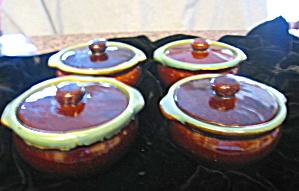 Zanesville Stoneware Casseroles Four (Image1)