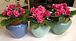 Vintage Zanesville Stoneware Vases (Image1)