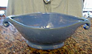 Zanesville Stoneware Blue Vase (Image1)