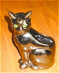 Click here to enlarge image and see more about item 02031: ALCO Black Cat Planter