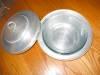 Click to view larger image of Vintage Buenilum Aluminum Casserole w/Pyrex (Image3)