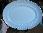 Large Anchor Hocking Swirl Platter