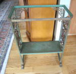 Click here to enlarge image and see more about item aquariumstand20410: Antique Aquarium Stand