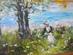 Click to view larger image of Marge Sharrow Oil Painting (Image3)