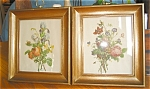 Click here to enlarge image and see more about item art08081: Vintage Floral Bouquet Prints