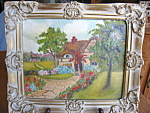 Click here to enlarge image and see more about item art2095: Vintage Oil Painting