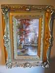 Click here to enlarge image and see more about item art50834: Antique B. Lambert Oil Painting