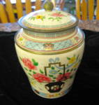Click here to enlarge image and see more about item artgrace110410: Vintage Baret Ware Art Grace Tin