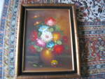 Click here to enlarge image and see more about item artoil010511: Floral Oil Painting