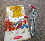 Click to view larger image of A&J Bakelite Beater & Linen Towel (Image1)
