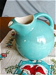 Click here to enlarge image and see more about item balljug10520a: Vintage Ball Jug Pitcher and Kitchen Linen