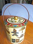Click to view larger image of Baret Ware Gingerbread Large Tin (Image2)