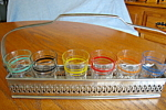 Vintage Shot Glass Set