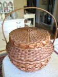 Click to view larger image of Huge Vintage Basket (Image2)
