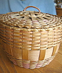 Click here to enlarge image and see more about item basket30703: Vintage Basket