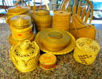 Click to view larger image of Vintage Native American Fibre Baskets (Image6)