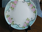 Click here to enlarge image and see more about item bavaria20501b: Hutschenreuther Porcelain HP Plate
