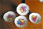 Click here to enlarge image and see more about item bavpl09091: Vintage Bavarian Nut Dishes
