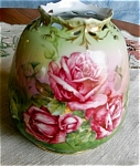 Click here to enlarge image and see more about item bayreuth1055: Royal Bayreuth Porcelain Vase