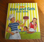Click here to enlarge image and see more about item bccookbook040710: Betty Crocker Boys & Girls First Edition