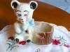 Click to view larger image of American Bisque Bear Planter (Image5)