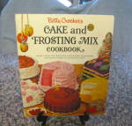 Click here to enlarge image and see more about item bettycrocker010511: First Edition Betty Crocker Cake Frosting Book