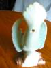 Click to view larger image of Vintage Morton Pottery Bird Wallpocket  (Image4)