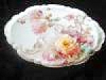 Click here to enlarge image and see more about item bischoff90502a: Franz Bischoff Porcelain Roses Tray