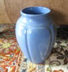 Zanesville Stoneware Blue Vase