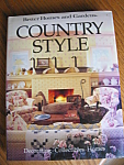 Click here to enlarge image and see more about item book40701: First Edition Country Style Book