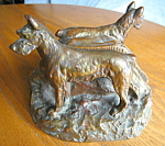 Click here to enlarge image and see more about item bookends50836: Man's Best Friend Rare Antique Bookends
