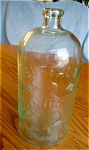 Click here to enlarge image and see more about item bottle70527: Antique Buffalo Lithia Water Bottle