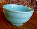 Click here to enlarge image and see more about item bowl10609: Vintage Aqua Mixing Bowl
