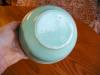 Click to view larger image of Vintage Aqua Mixing Bowl (Image2)