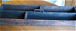 Click here to enlarge image and see more about item box40514: Primitive Wooden Utility Box