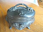 Click to view larger image of Antique Art Nouveau Trinket Box (Image1)